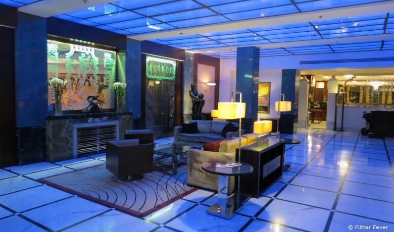 Prague Radisson Blu Alcron Lobby