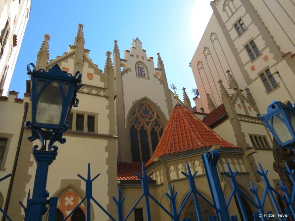 Maiselova synagoga in Josefov Prague Praag Maisel Synagogue