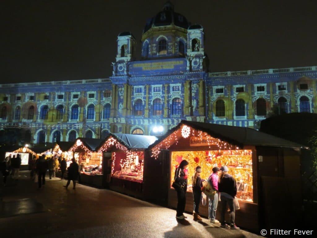 Naturhistorisches Museum & Christmas Village Vienna Wien Wenen