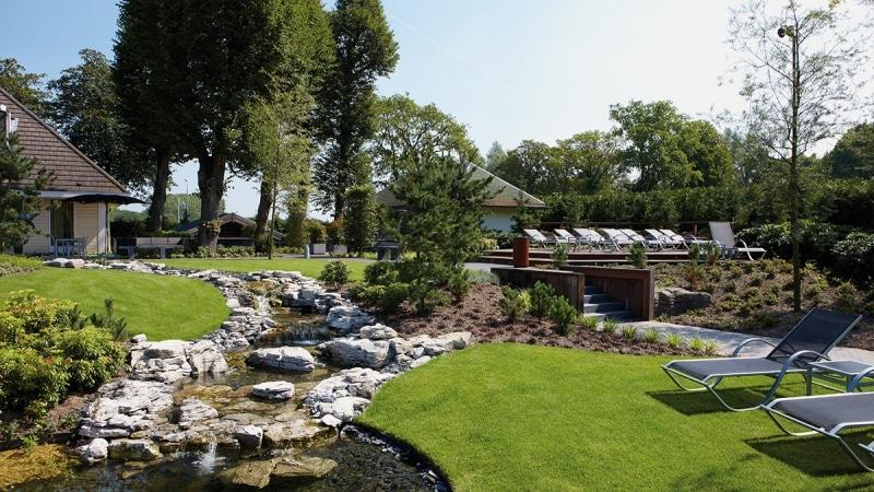 Sauna Ridderrode garden
