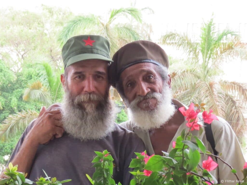 Cuban friends Havana