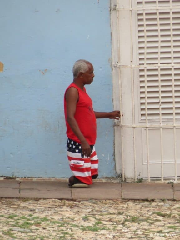 Handicapped man @ Trinidad