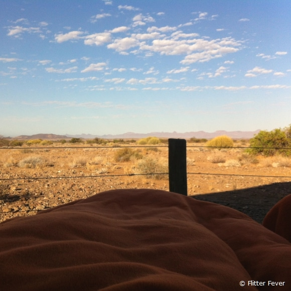Waking up outside with this view... @ Doro Nawas, Namibia
