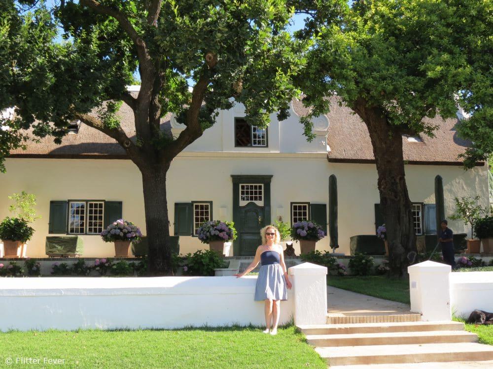 Super cute authentic house next to Peter Falke in Stellenbosch