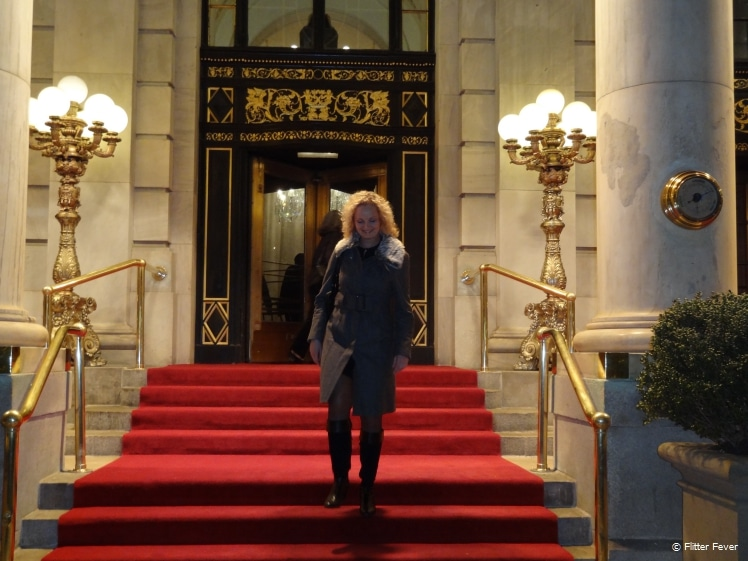 Getting out of the Plaza hotel