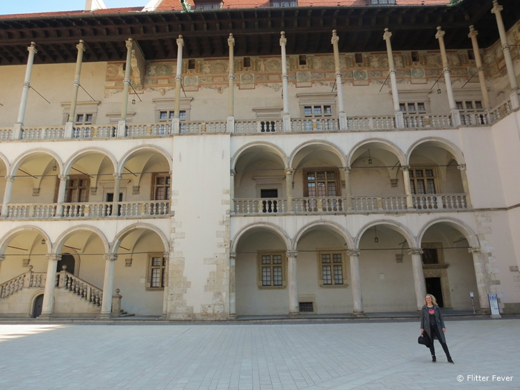 Wawel Castle courtyard