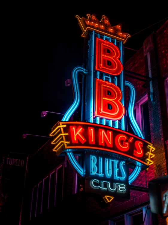 BB King's Blues Club (photo credits Heidi Kaden Lopyreva)