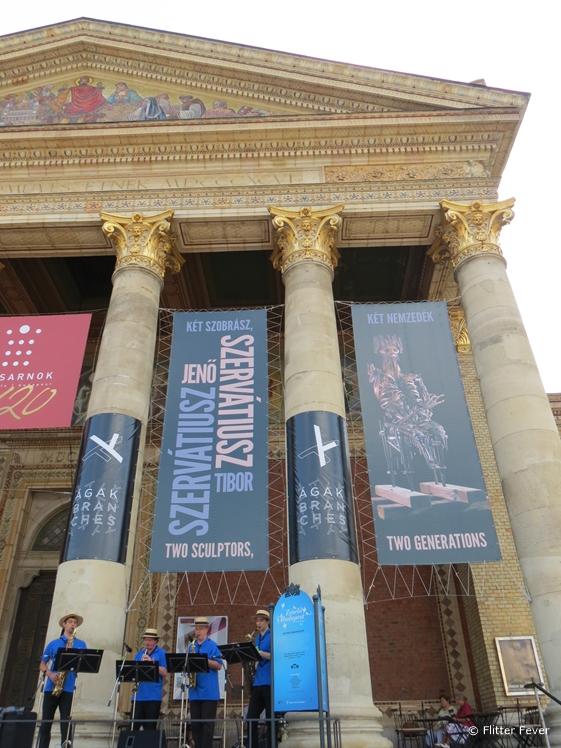 Műcsarnok Hall of Art Kunsthalle Budapest