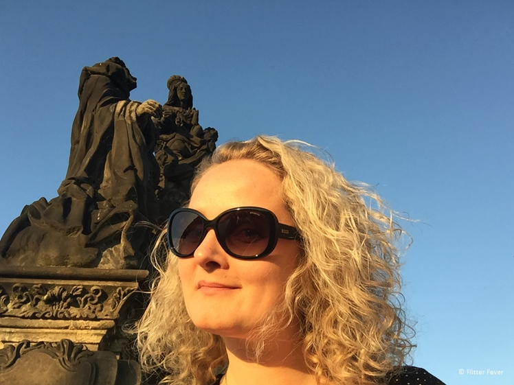 Golden Hour at the Charles bridge Prague