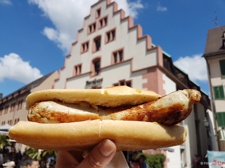 Bratwurst in Freiburg im Breisgau