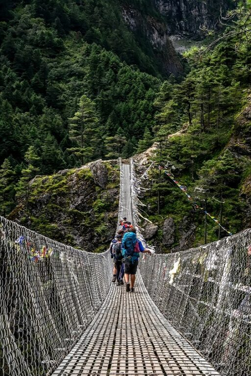 Nepal bridge bucketlist