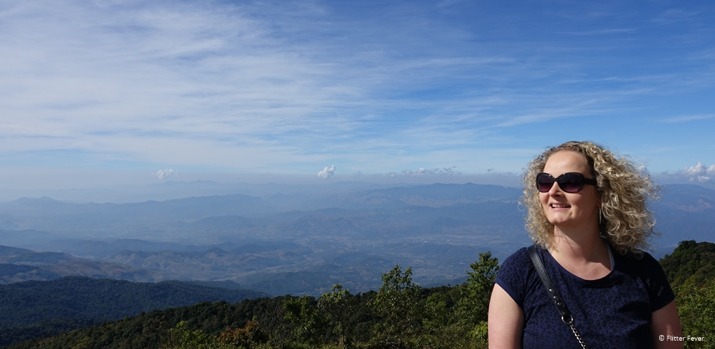 Mountain view from Phra Mahathat Naphamethanidon in Doi Inthanon National Park BIG