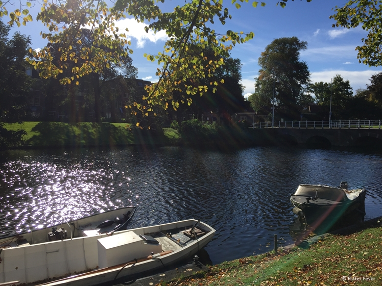 Nothing beats a boat ride on a sunny day in the canals of Alkmaar