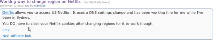 reddit getflix netflix