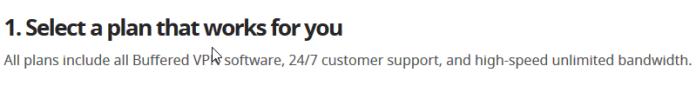 Buffered customer support