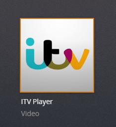 ITVPlayer plex channel screenshot