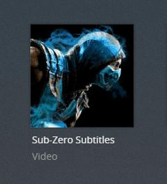 subzero plex channel screenshot