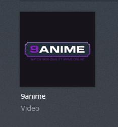 9anime plex channel screenshot