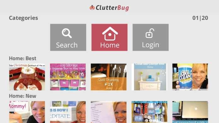 Clutterbug on Roku