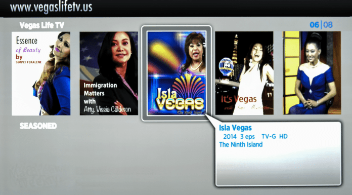Vegas Life TV on Roku