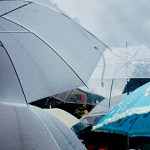 rainy day and umbrella