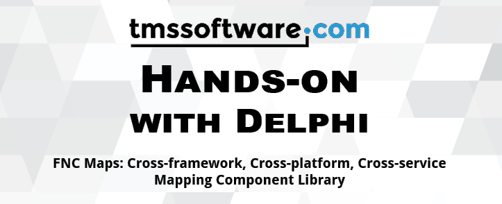 New book: Hands-on with Delphi: FNC Maps is ready for order