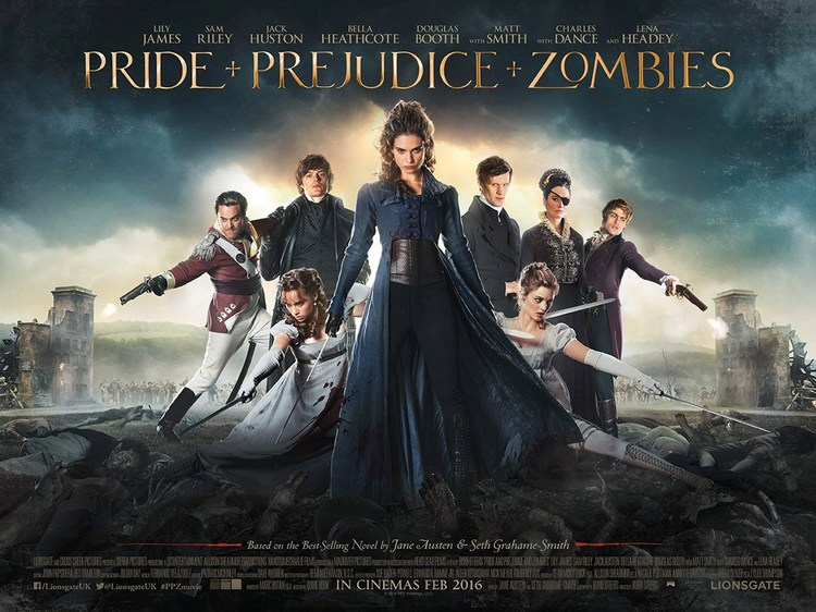 Ep #047 Pride and Prejudice and Zombies with David K Barnes and Beth Eyre from Wooden Overcoats!