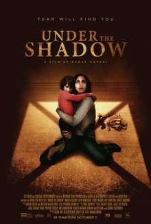 Ep #156 Under the Shadow with Anna Bogutskaya from The Final Girls and The Next Supremes and Mike Muncer from The Evolution of Horror.