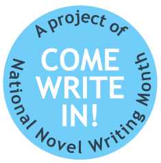 Come Write In! logo