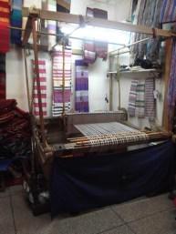 Weaving Loom at the Ensemble Artisanal