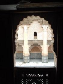 Window Overlooking Courtyard from the Ben Youssef Medersa