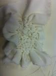Stitched Sample using Cotton Velvet