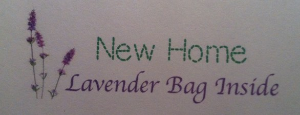 New Home Lable