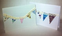 Bunting cards £1.50 plus 50p for postage
