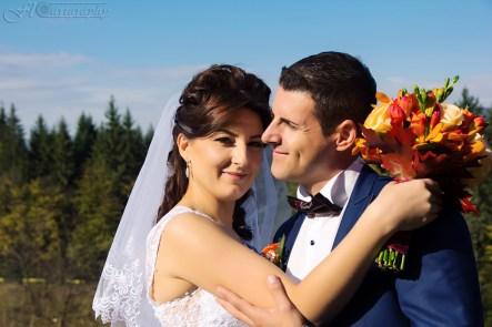 foto cristina si costel nunta bicaz