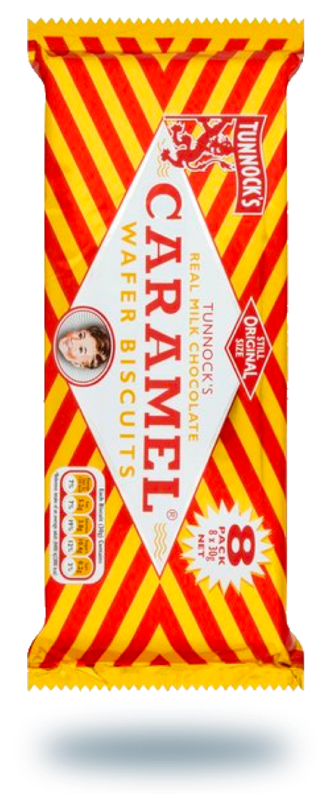 Biscuits - Tunnocks caramel wafers