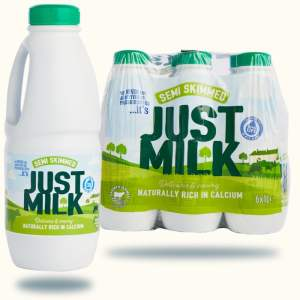 Milk - NEW Semi-Skimmed JUST MILK