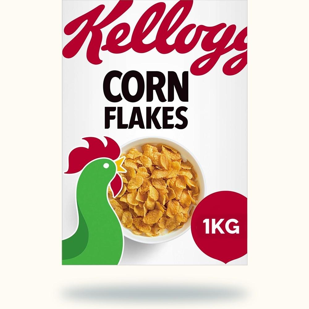 Cereals - Kellogs Corn Flakes 1KG