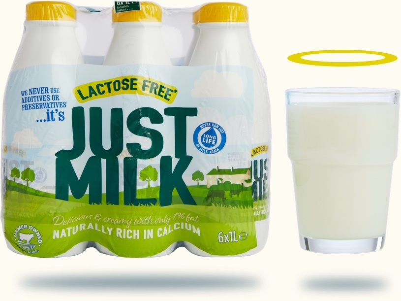 the benefits of Lactose Free milk now in 6 packs