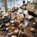 Hundreds Of Pounds Of Waste Packaging