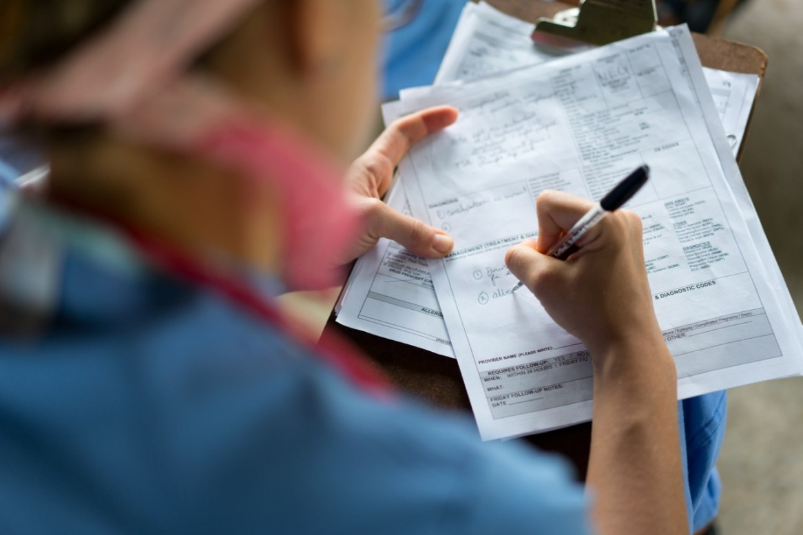 It is Irresponsible For Missions to Not Keep Good Patient Data