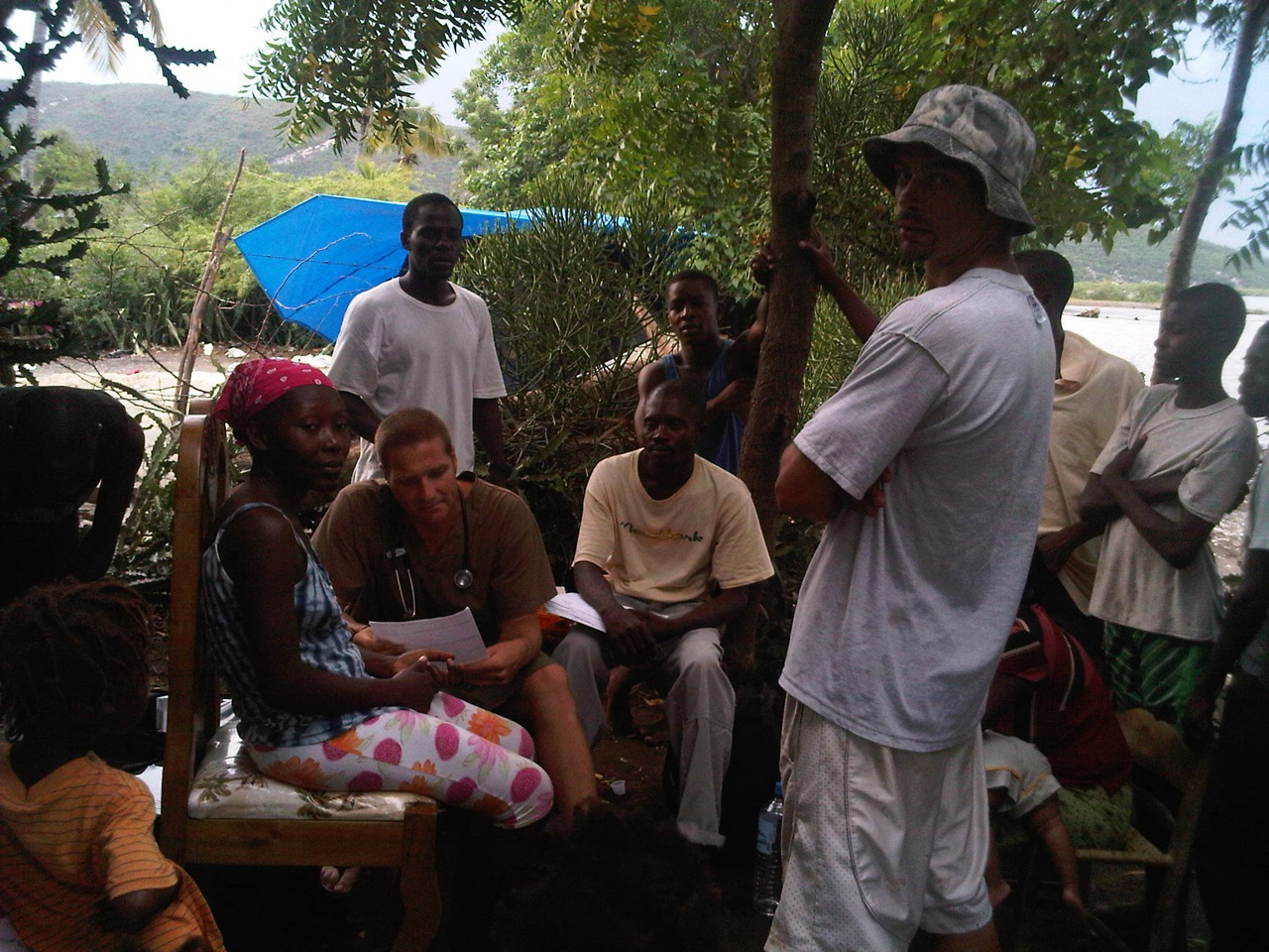 Our first mobile clinic deployment in Petit Goave