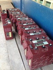 Islas Secas Resort Donated the Batteries