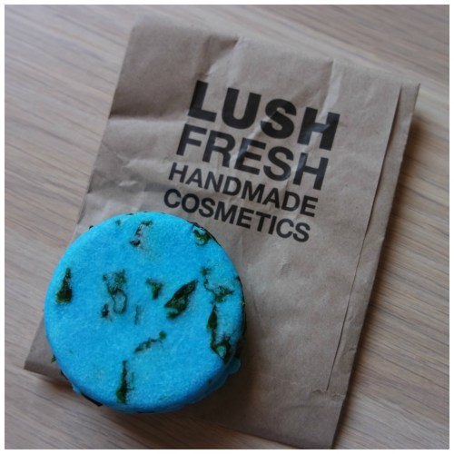 Lush Seanik shampoo bar review
