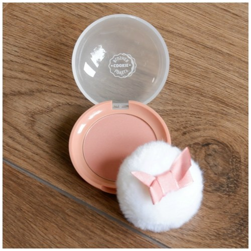etude house lovely cookie blusher ginger honey cookie review swatch makeup look fair skin