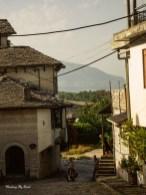 Enver Hoxa's house, Ottoman bazaar in Gjirokastër, castle, ruins, UNESCO World Heritage, Gjirokastër, Albania, things to do in Gjirokastër, female solo travel, travel blog, travel tips, budget travel, street photography, travel photography