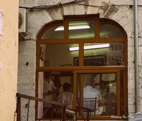 barber, castle, ruins, UNESCO World Heritage, Gjirokastër, Albania, things to do in Gjirokastër, female solo travel, travel blog, travel tips, budget travel, street photography, travel photography