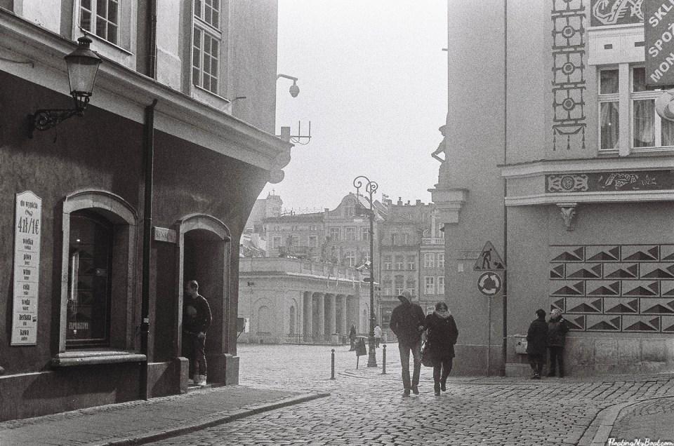Klimatyczny Poznań - zdjęcia analogowe