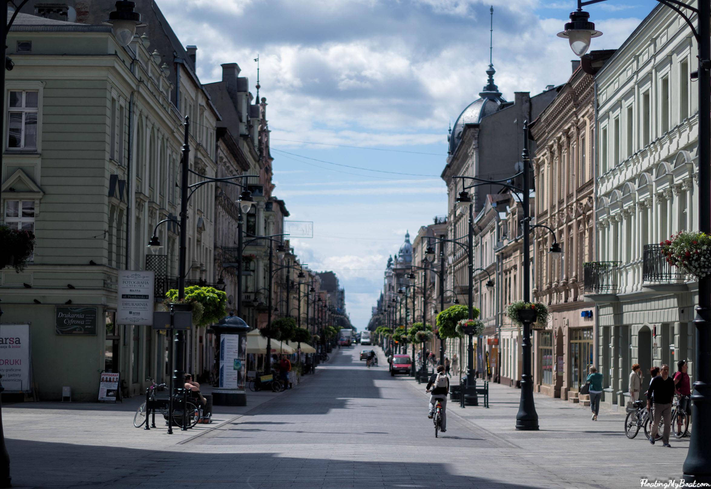 ulica-piotrkowska-łódź