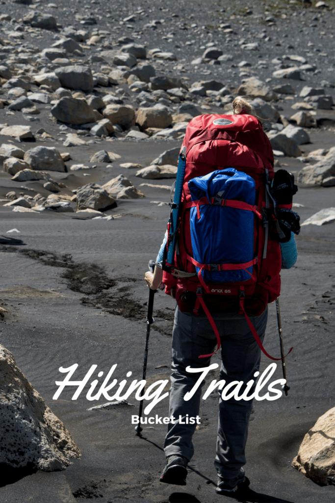 Hiking Bucket list